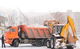 камаз для вывоза снега