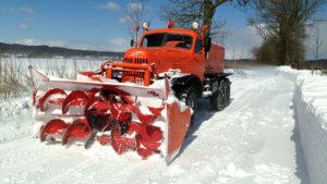вывоз снега зил
